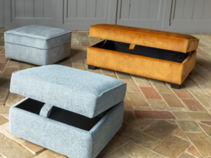Lexi Ottoman by Alstons