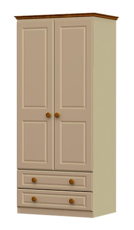 Troscan 2 Door 2 Drawer Robe