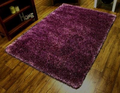 Purple Sensations Shaggy Rug