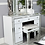Thumbnail: White Manhattan 7 Drawer Dressing Table