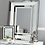 Thumbnail: White Manhattan Wall Mirror