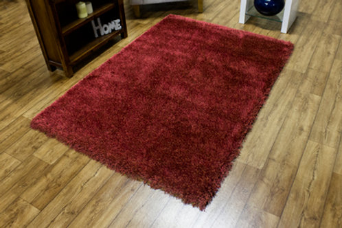Red Sensations Shaggy Rug
