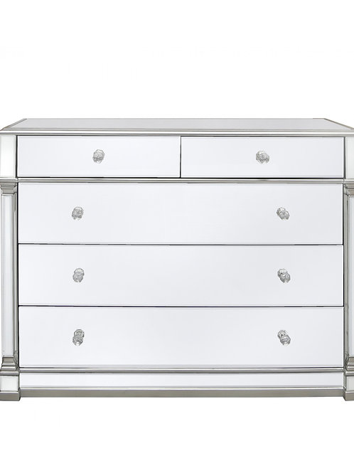 Apollo 5 Drawer Wide Chest