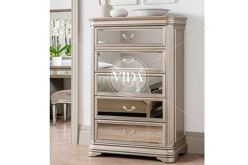 Jessica Tall 5 Drawer Chest