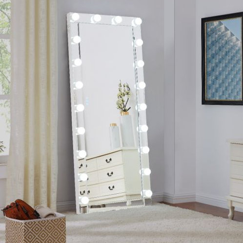 Large Clear Hollywood Mirror