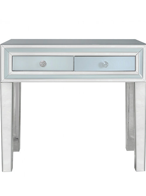 Manhattan Grey 2 Drawer Console Table