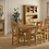 Thumbnail: Salisbury Cross Back Chair with Wooden Seat G2141