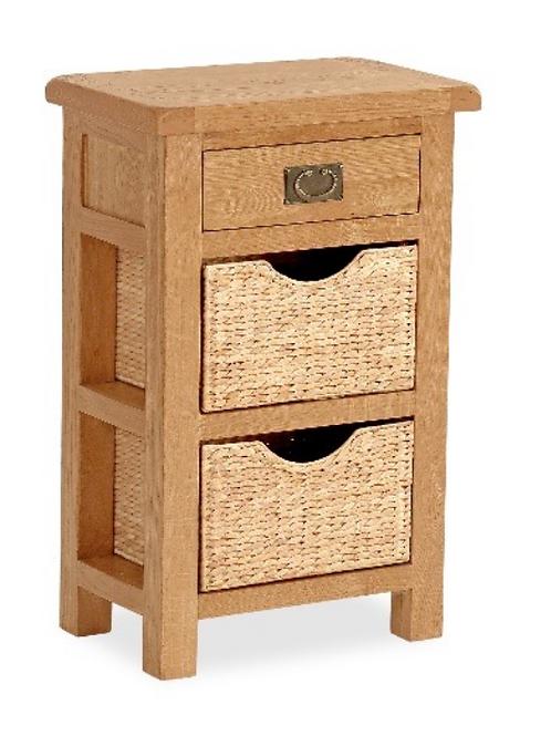 Salisbury Telephone Table with Baskets G3507