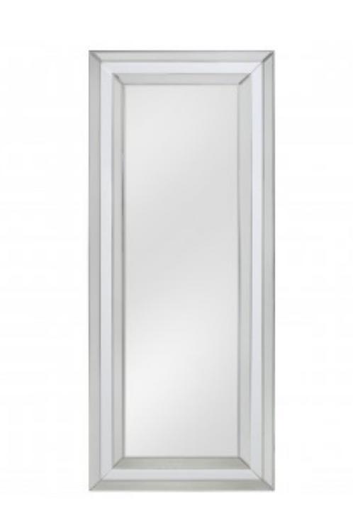 White Manhattan Tall Wall Mirror