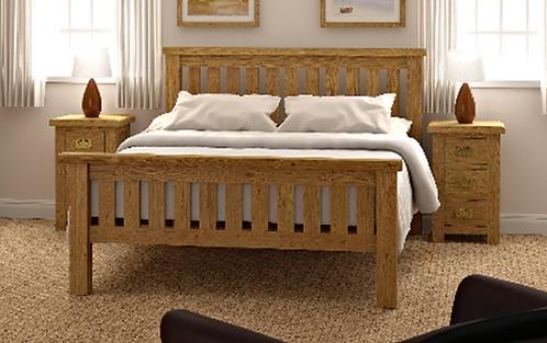 Salisbury Slatted Bed