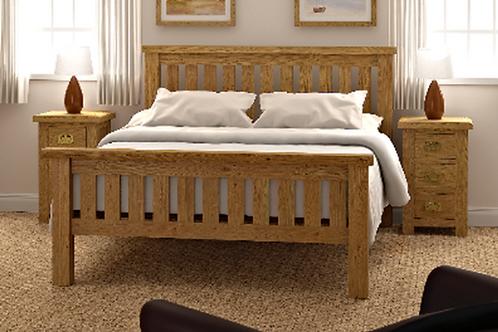 Salisbury 6ft Slatted Bed G2105