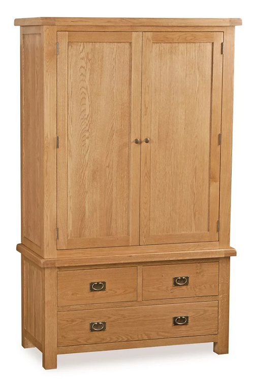 Salisbury 3 Drawer Wardrobe G2187