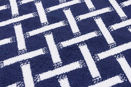 Ambience Rugs - Criss-Cross Navy
