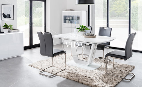 Lazzaro 1.6m to 2m Extending Dining Table