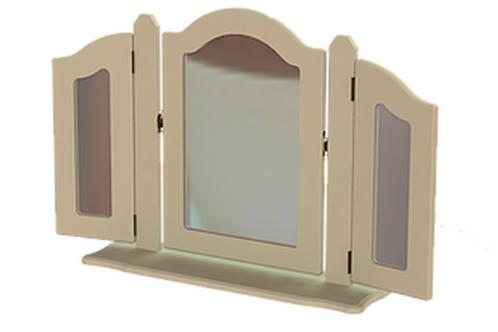 Troscan Triple Ornate Mirror