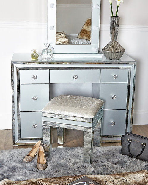 Manhattan Grey Double Dressing Table