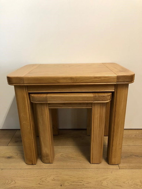 Cadiz Oak Nest Of Tables