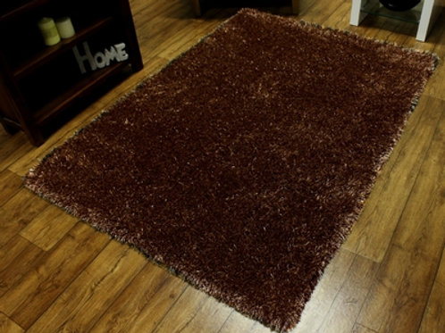 Brown Sensations Shaggy Rug