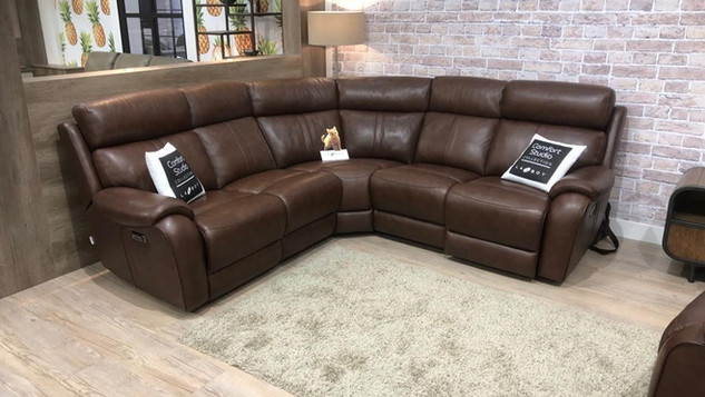 Corner Leather Suites