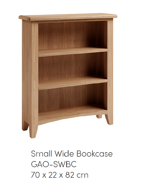 GAO Small Wide Bookcase