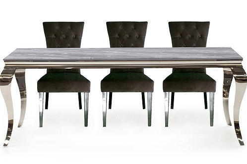 Fabien Dining Table - Grey 2000mm
