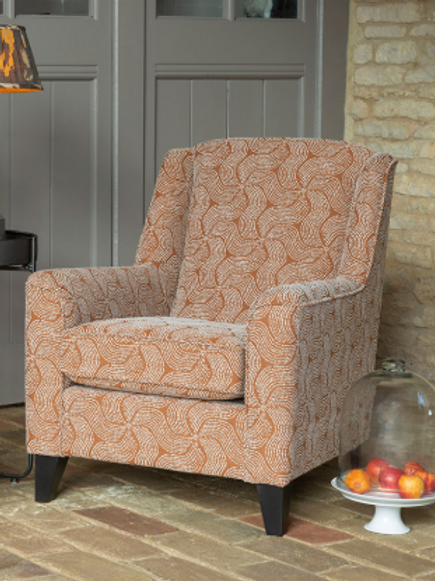 Poppy Accent Chair by Alstons