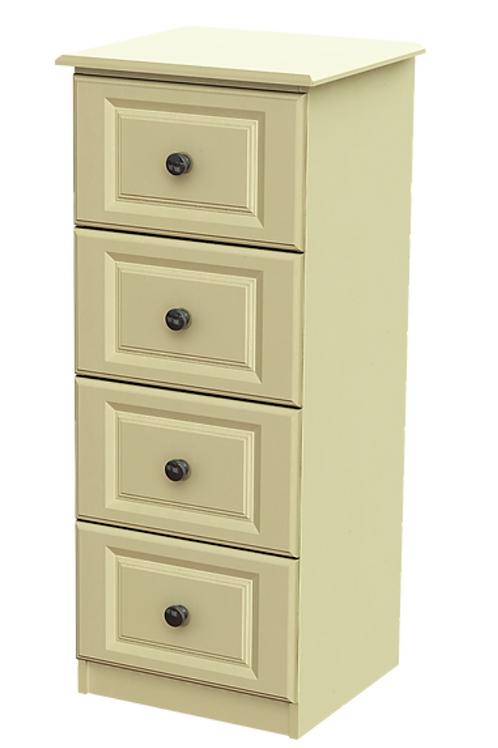 Liffey 4 Drawer Deep Bedside Locker