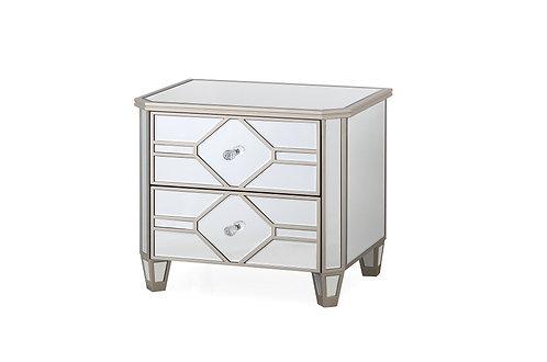 Rosa Bedside Table - 2 Drawer