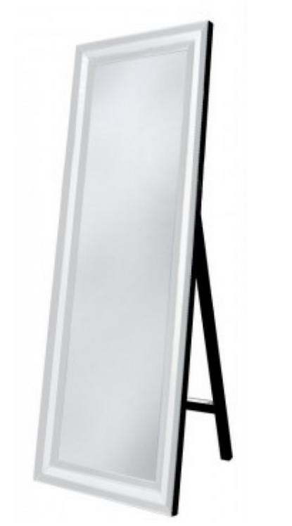 White Manhattan Cheval Mirror