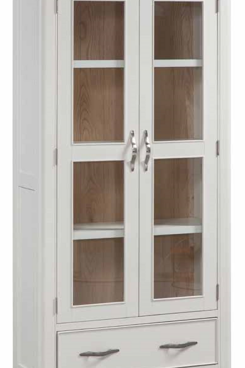 Oxford Painted Display Cabinet with Glass Door
