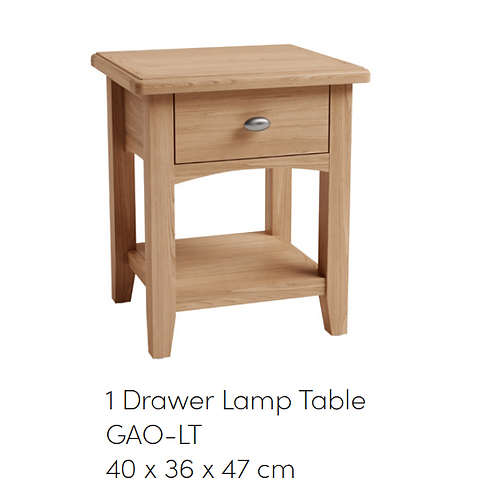 GAO 1 Drawer Lamp Table