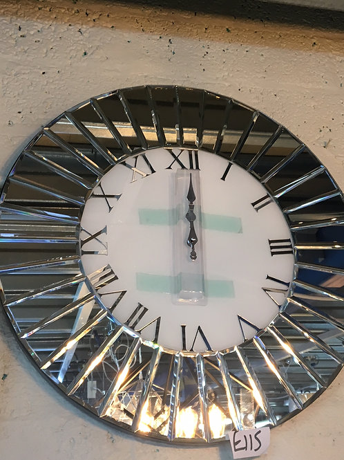 Fan Effect Mirror Clock