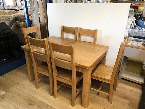 Cadiz Dining Table & 6 Chairs