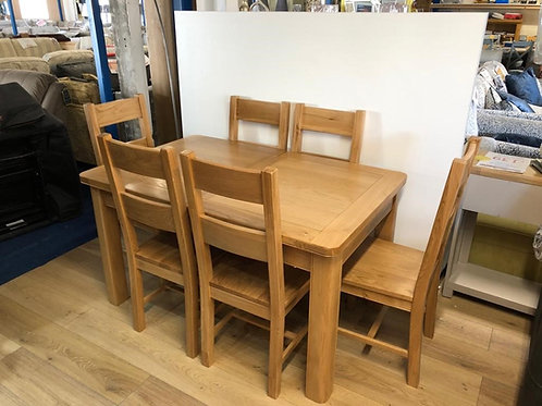 Cadiz Dining Table & 6 Chairs