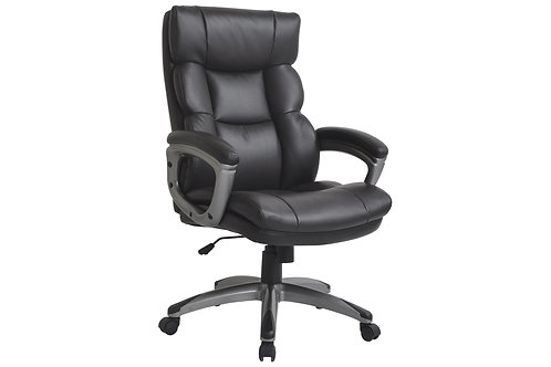 Director Office Chair - Dark Brown PU