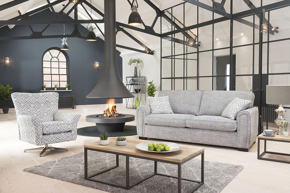 Memphis 2 Seater Sofa Bed By Alstons Glenkeen Furnishings