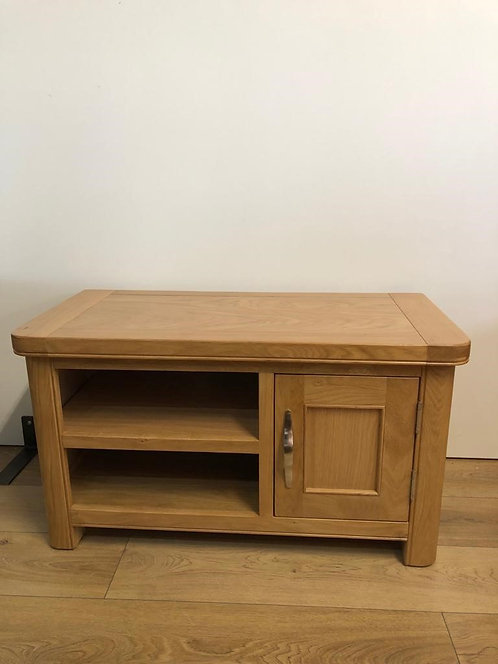 Cadiz Oak Small 1 Door TV Unit