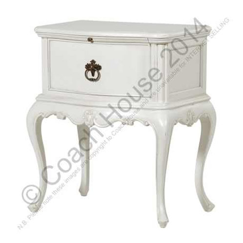 Loire Chateau Bedside with Slide