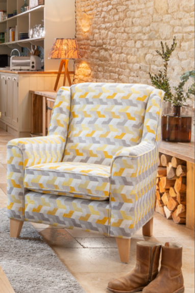 Reuben Accent Chair by Alstons