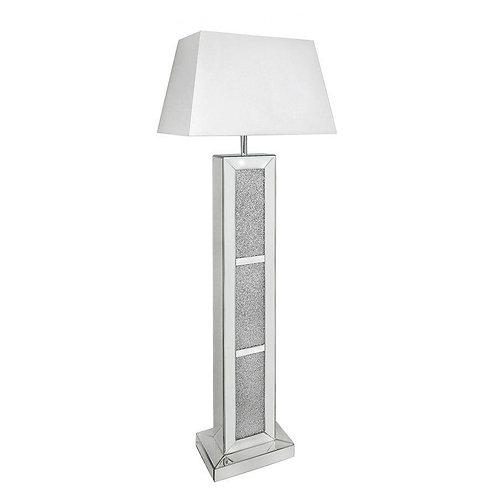 Milano Brick Floor Lamp - 22 inch Shade