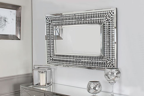 Crystal Rectangle Mirror