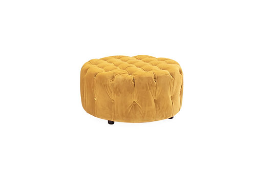 Darby Round Footstool