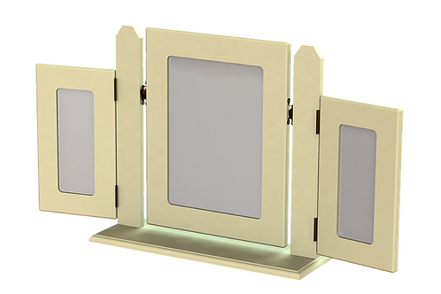 Liffey Triple Square Mirror