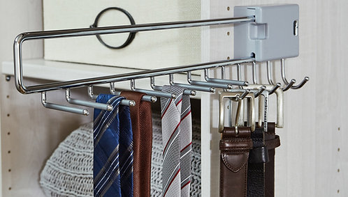 Tie and belt pull-out