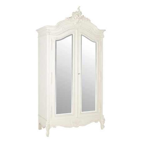 Chateau 2 Door Mirrored Armoire