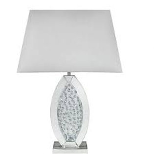 Astoria White Floating Crystal Lamp (Small)