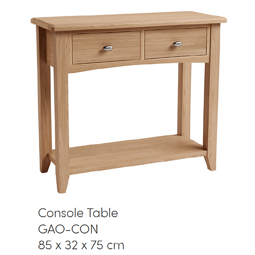 GAO Console Table