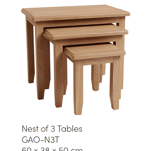 GAO Nest of 3 Tables