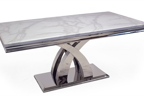 Ottavia Dining Table - Bone White 1800