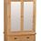 Thumbnail: Salisbury Wide Mirror Wardrobe G2188